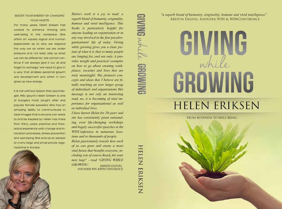 GIVING WHILE GROWING